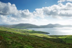 An Irish landscape near the Ring of Kerry