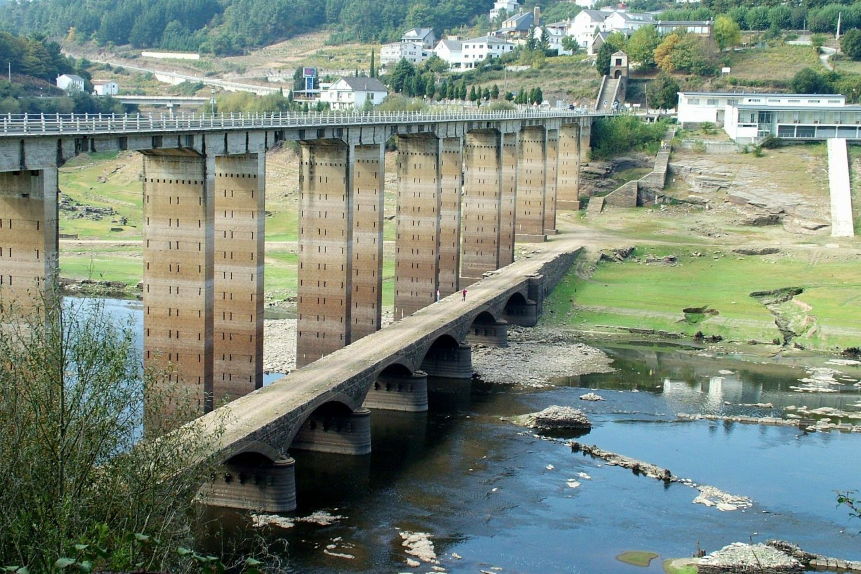 Bridge along the Camino de Santiago