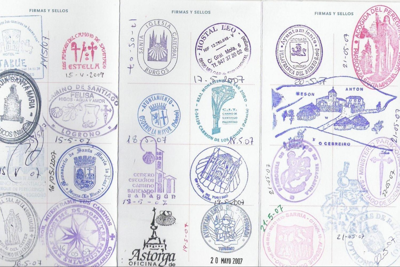 """Camino """"Pilgrim Passport"""""""