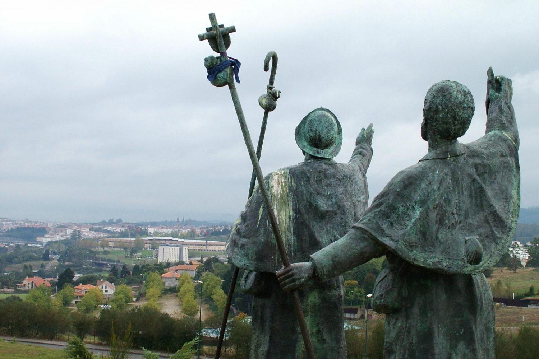 Statues along the Camino de Santiago