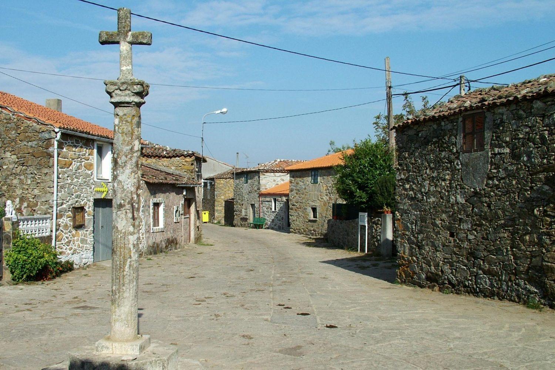 Town along the Camino de Santiago