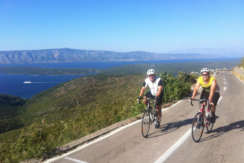 Self guided cycling tour of Croatia's coast and islands