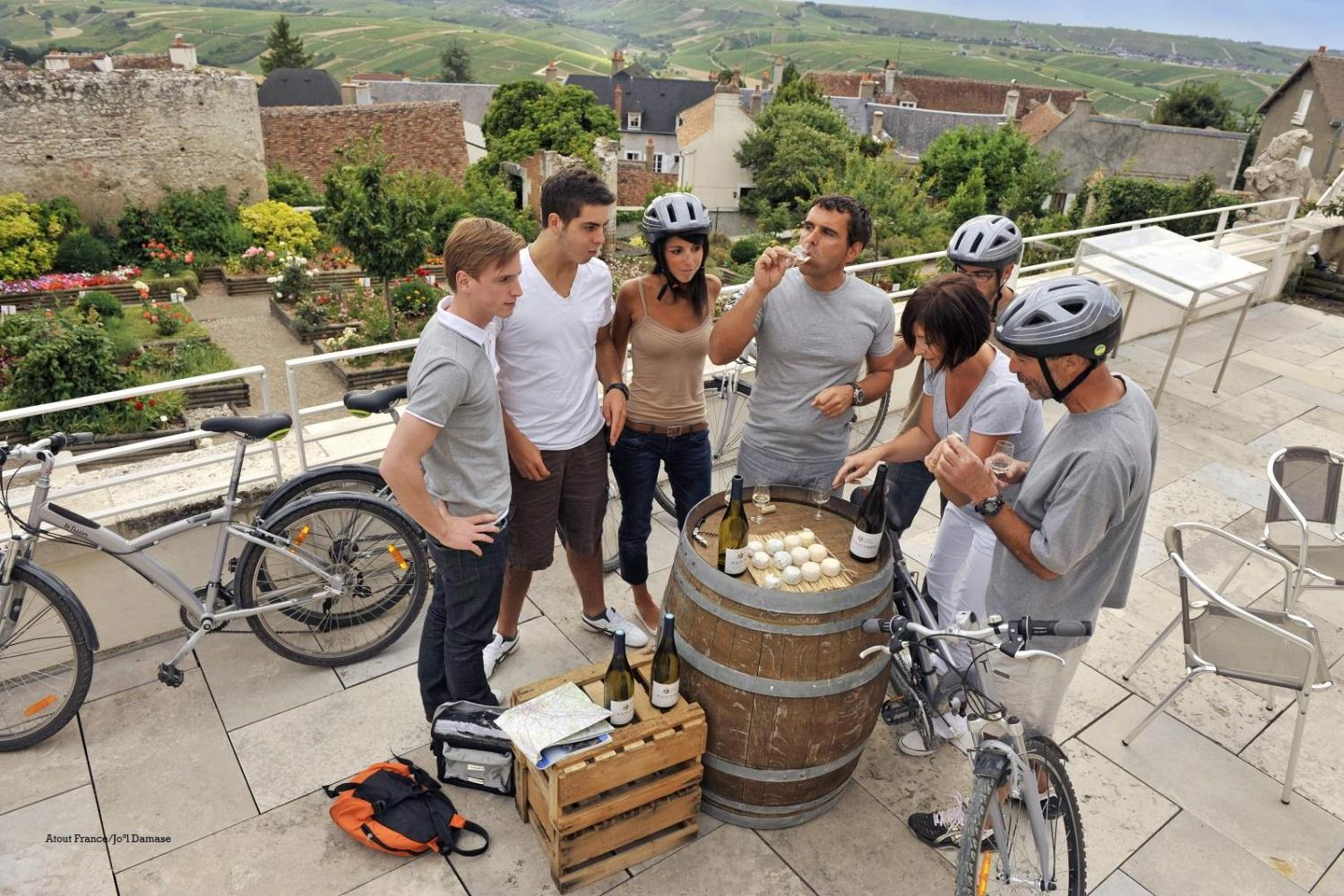 Burgundy, France self-guided bike, wine and gastronomy tour