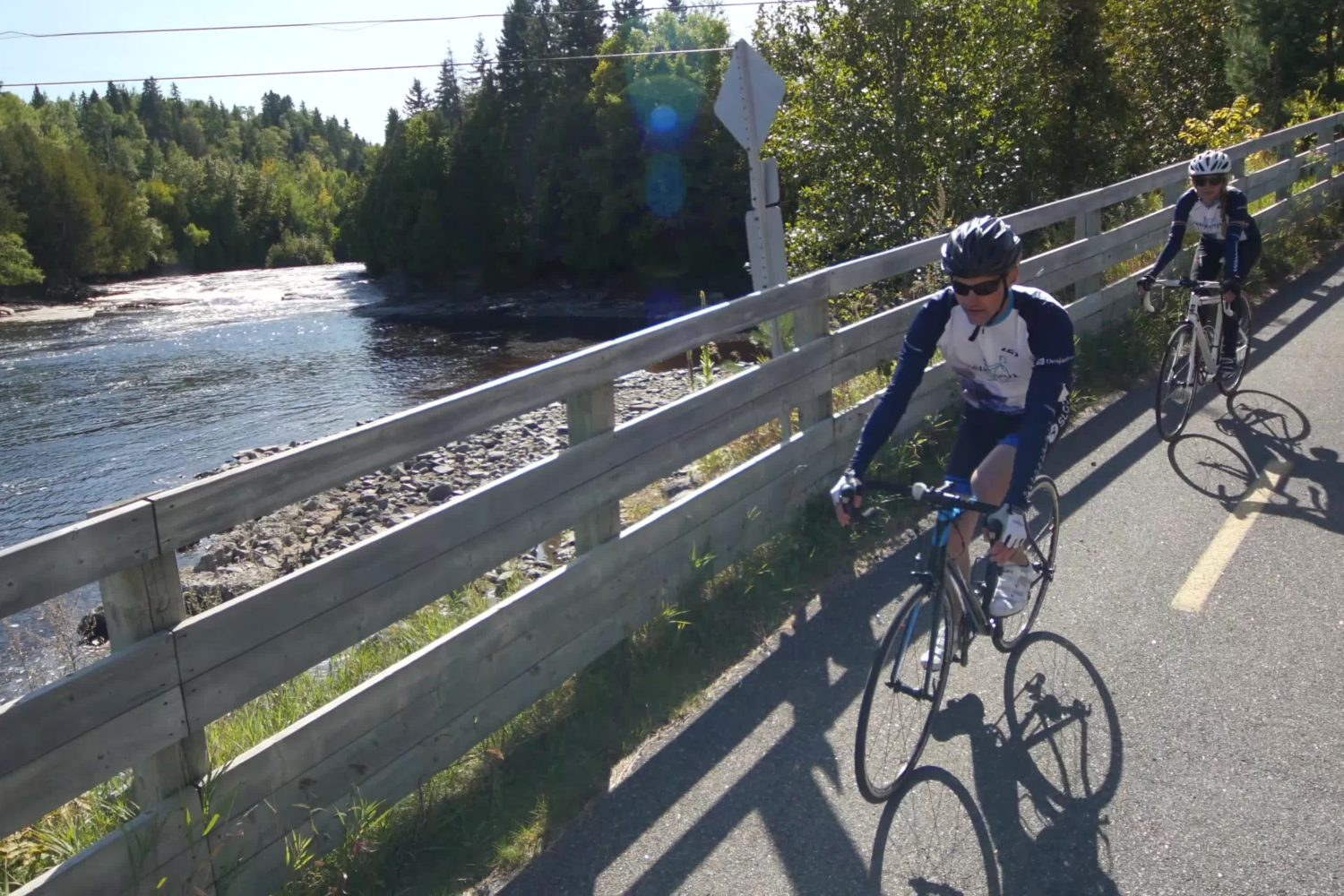 A cyclist's dream - cycle the Blueberry Route in Quebec