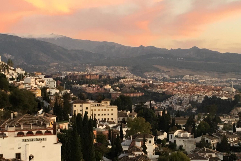Andalusia cityscape