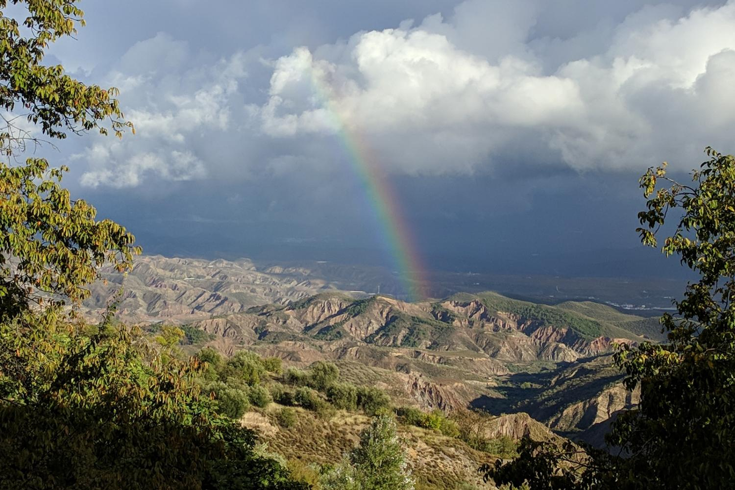 Rainbow in Andalusia