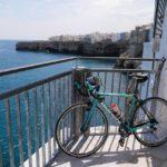 Enjoy beautiful ocean views on this self-guided Puglia bike tour