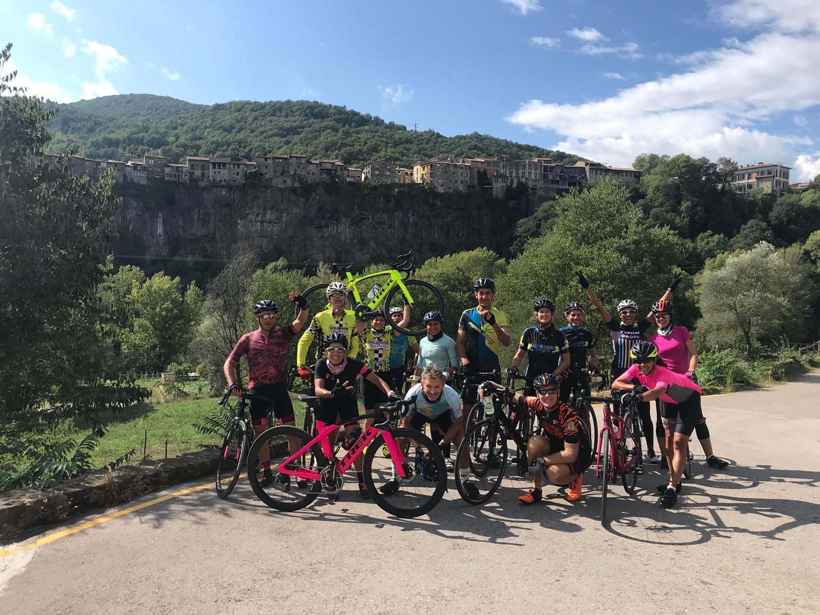 Spain road bike challenge