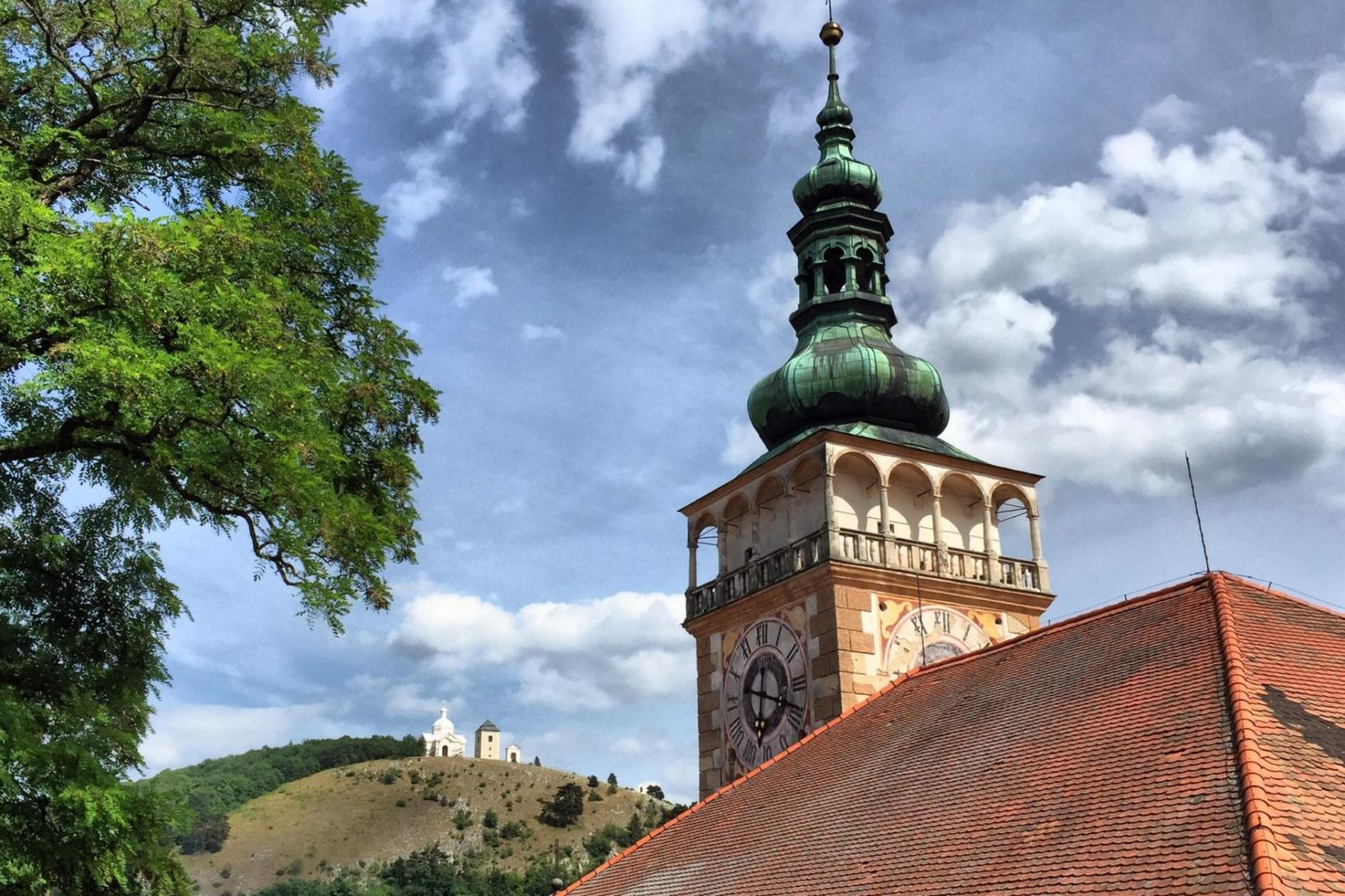 Self-guided hiking tour from Vienna to Prague