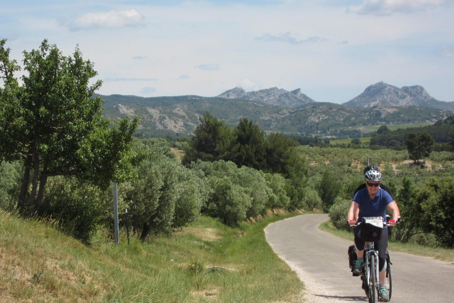 Self guided bike tour of France - Provence Pont Du Gard with Pure Adventures