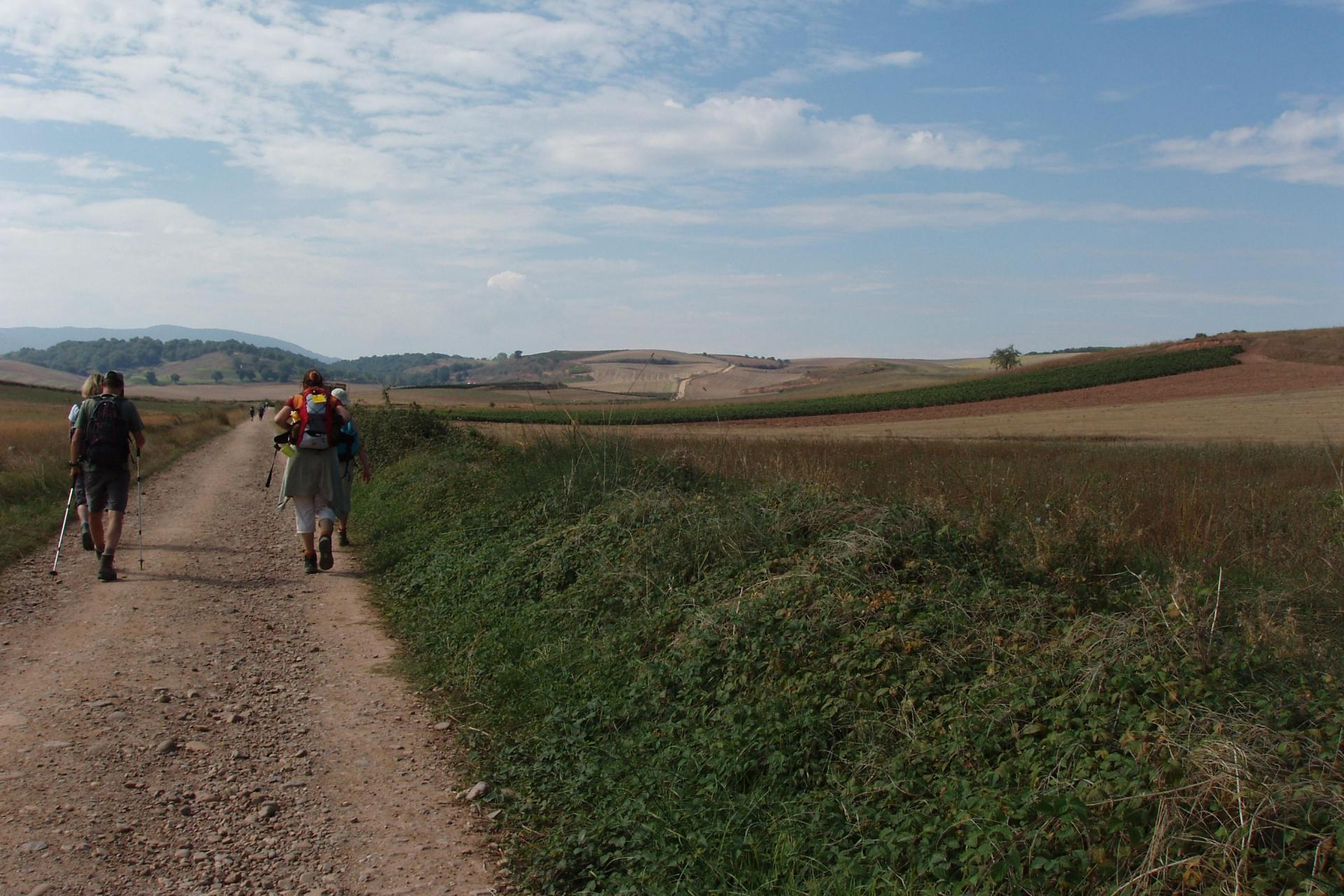 Self-guided hiking of El Camino de Santiago de Compostela, Spain: STAGE 2 Logroño To Burgos