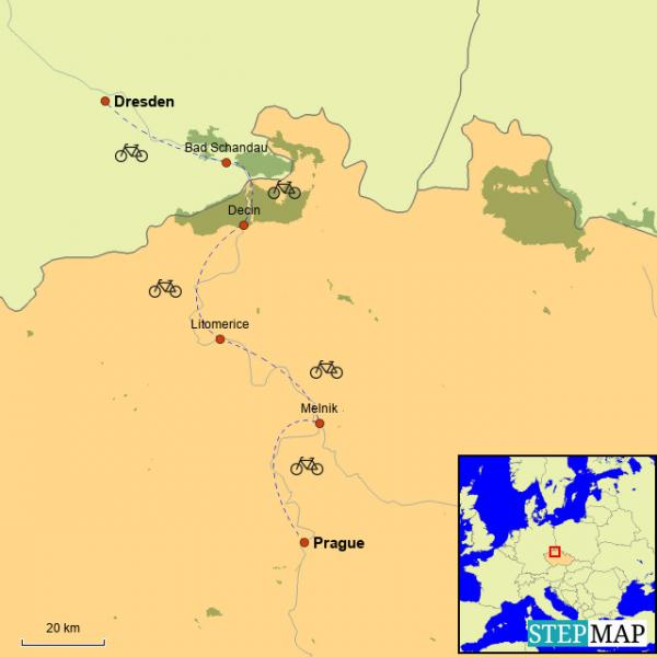 Prague to Dresden Bike Tour