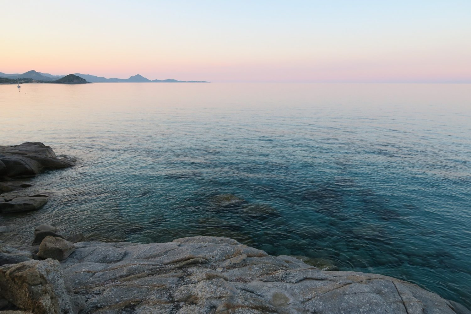 Enjoy a peaceful sunset after the perfect day of cycling in Sardinia