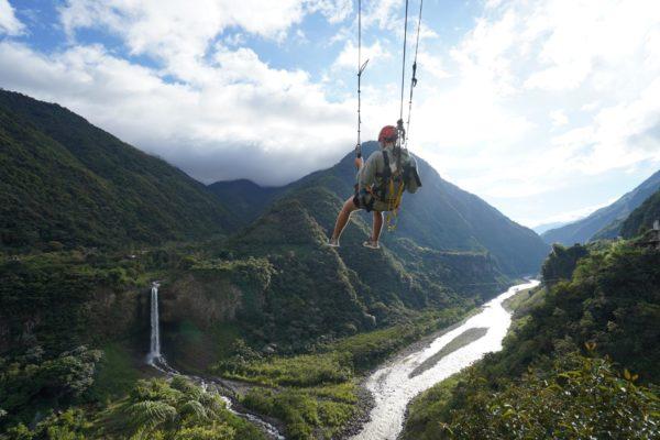 Ecuador - Hiking, Biking, Canyoning Tour