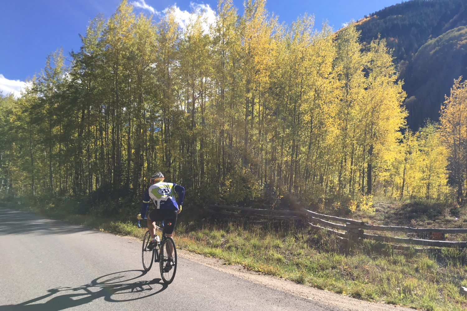 Colorado bike tour from Vail to Aspen gives you the best of the Rocky Mountains