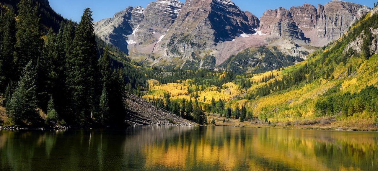 The Maroon Bells - the most photographed peaks in North America!