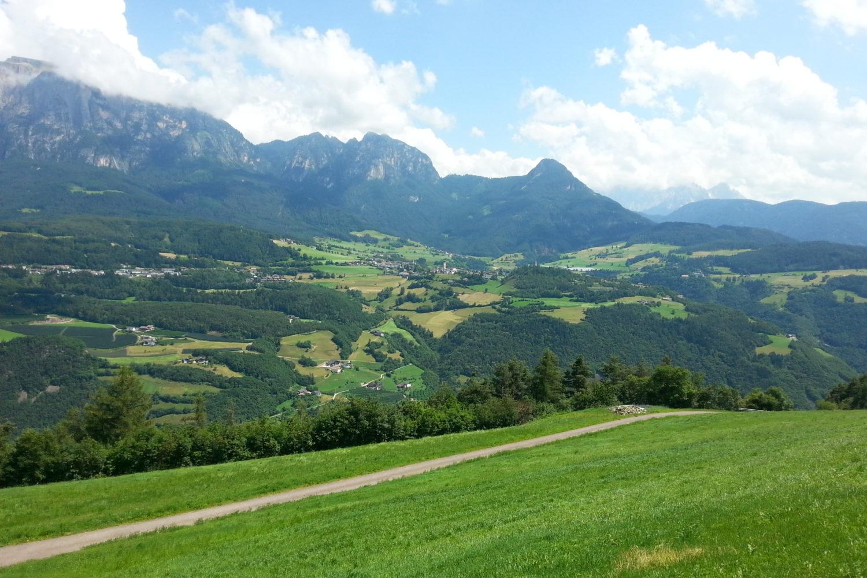 Beautiful views on this Dolomites hiking tour