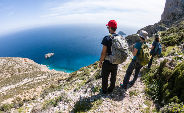 Self guided hiking tour through the best of Greece's islands gets you away from the crowds and into the true beauty of Greece!