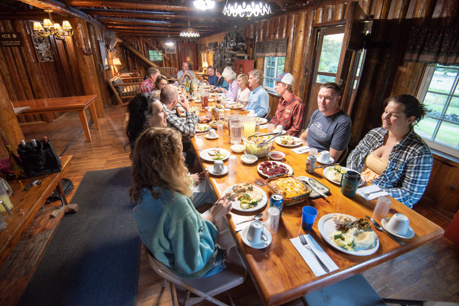 Delicious dinners at the lodge (c)ChadCase
