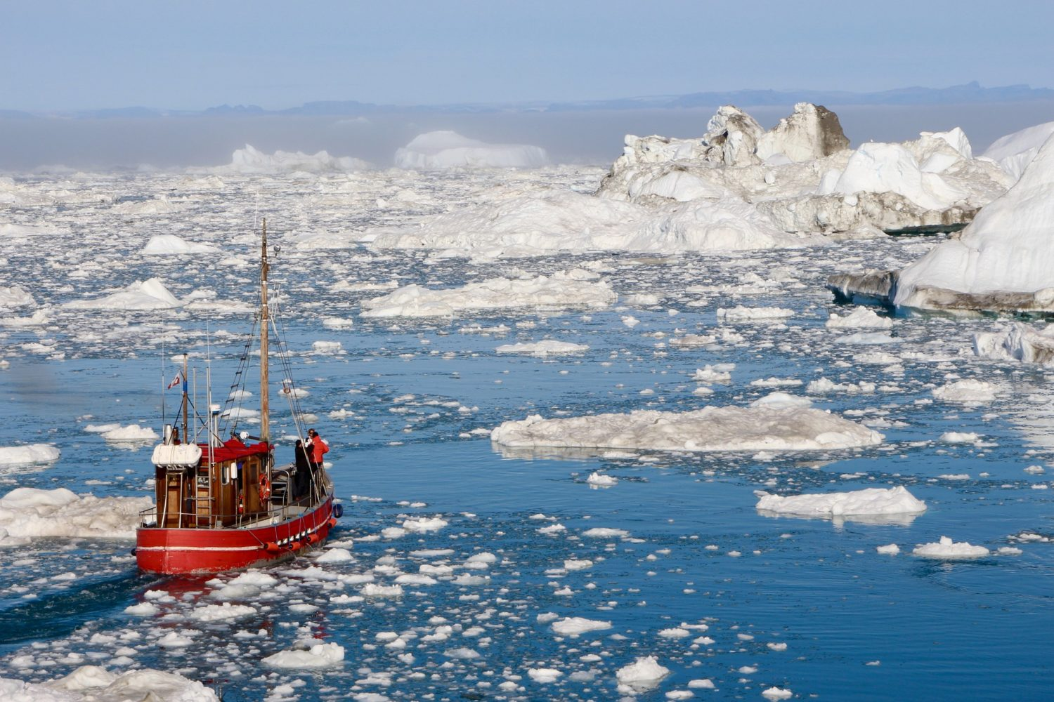 Icebergs are a popular sightseeing stop in Greenland.