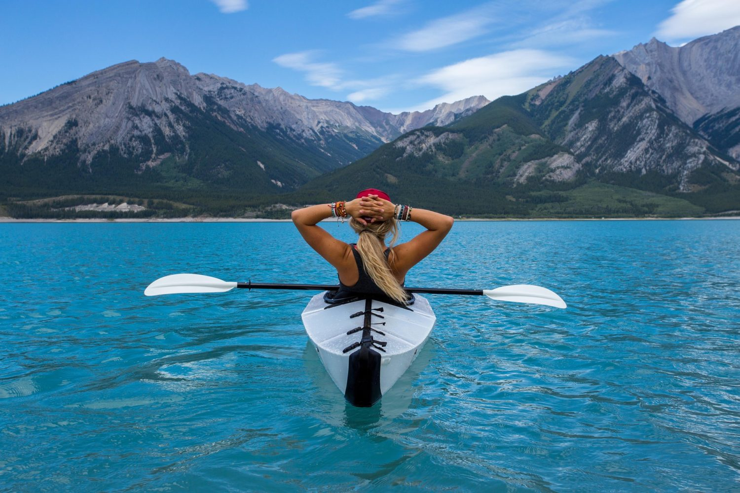 Get your paddle on in sparkling waters!