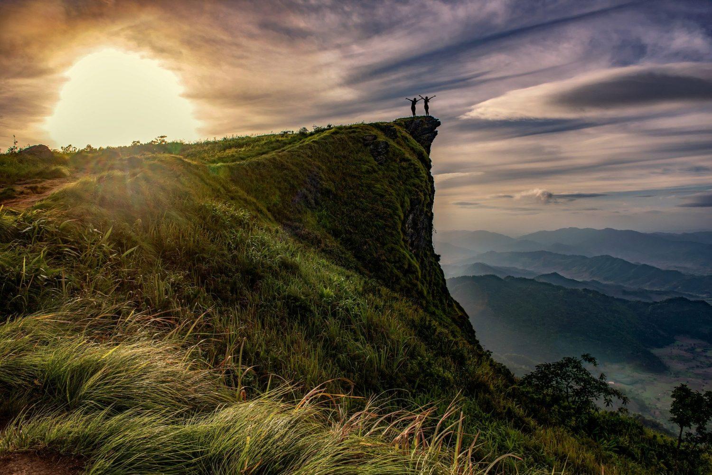 Self guided hike to beautiful and pristine vistas