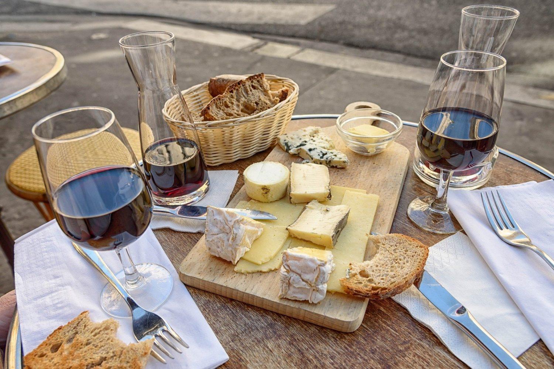 Wine & cheese, anyone?