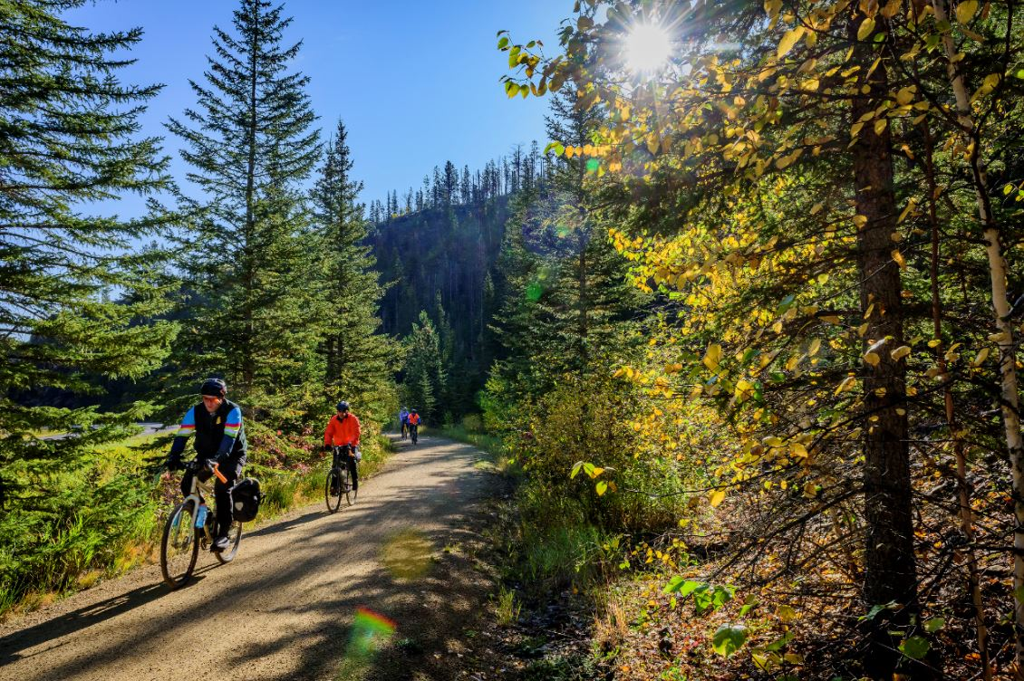 Self guided Mickelson Trail bike tour has numerous highlights