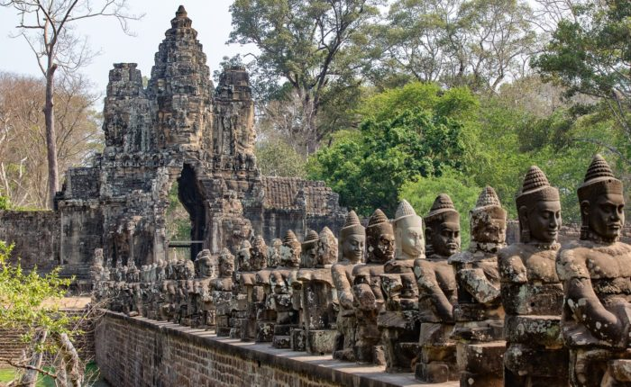 Angkor Thom archaelogical site