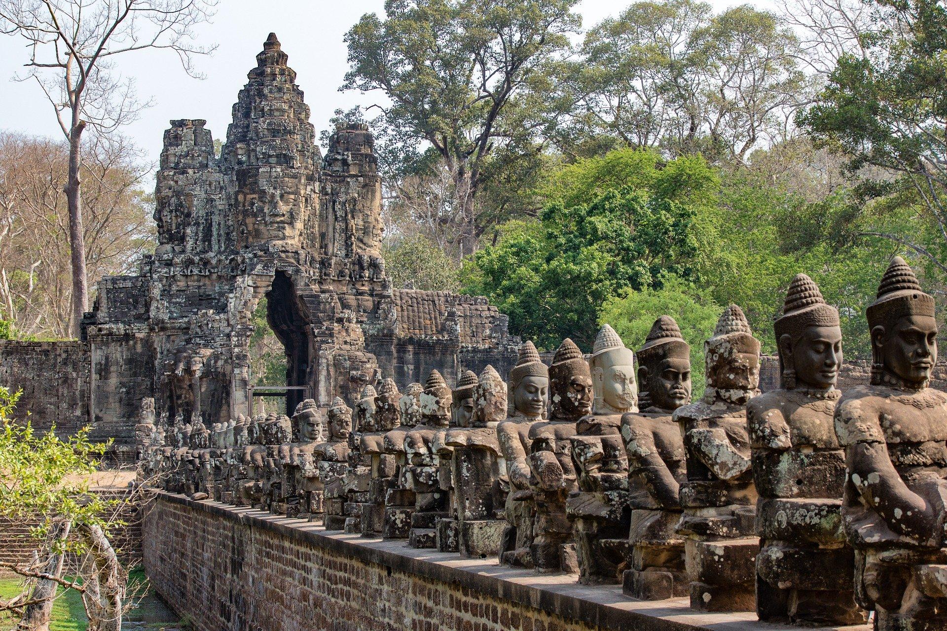 Angkor Thom archaelogical site