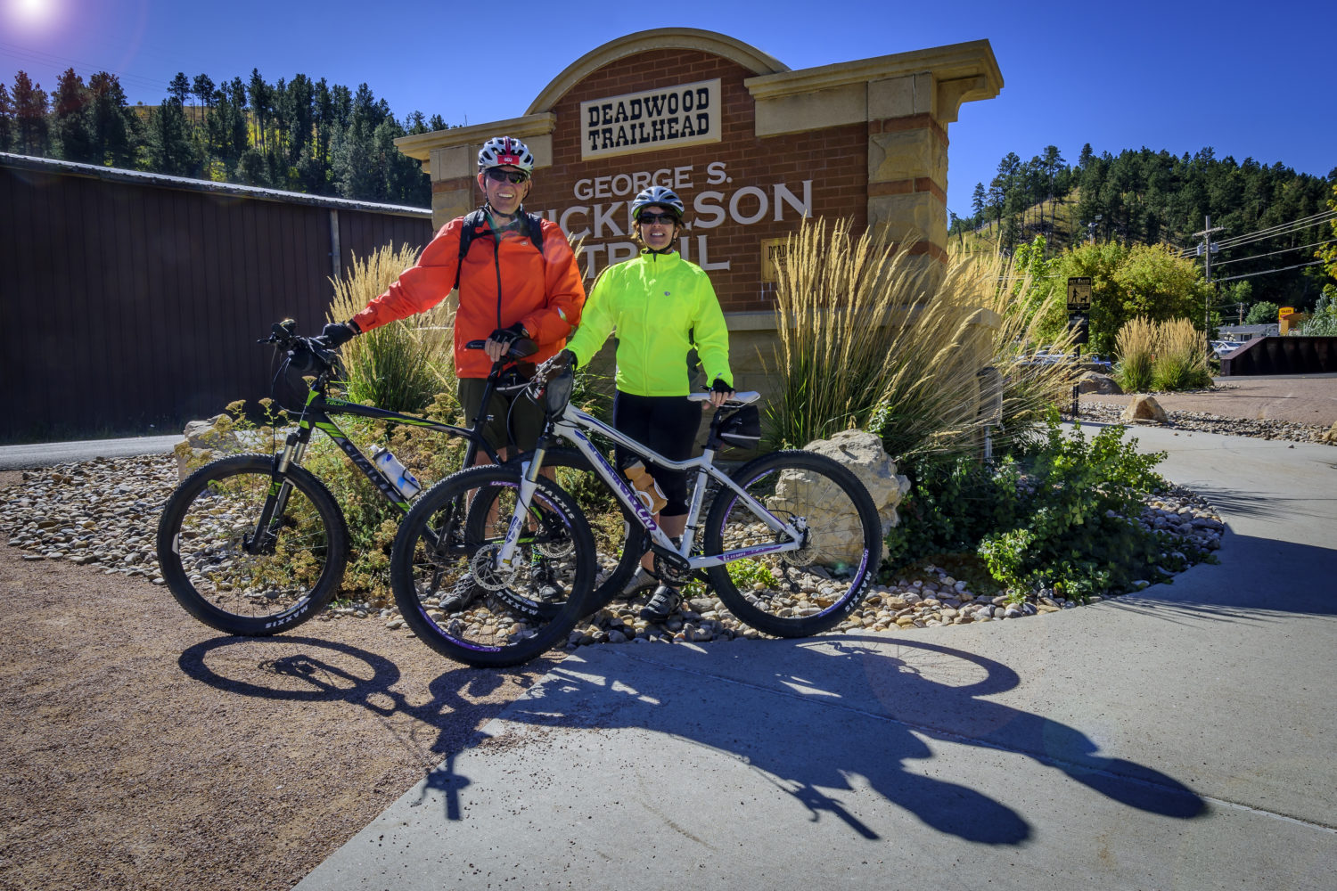Cycle to the famous town of Deadwood