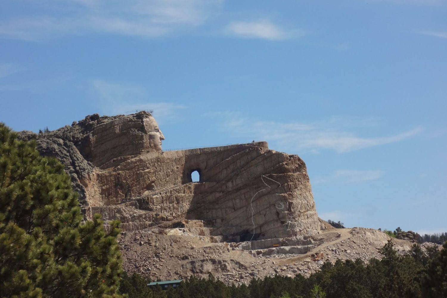 Visit Crazy Horse Memorial on this Black Hills self guided bike tour