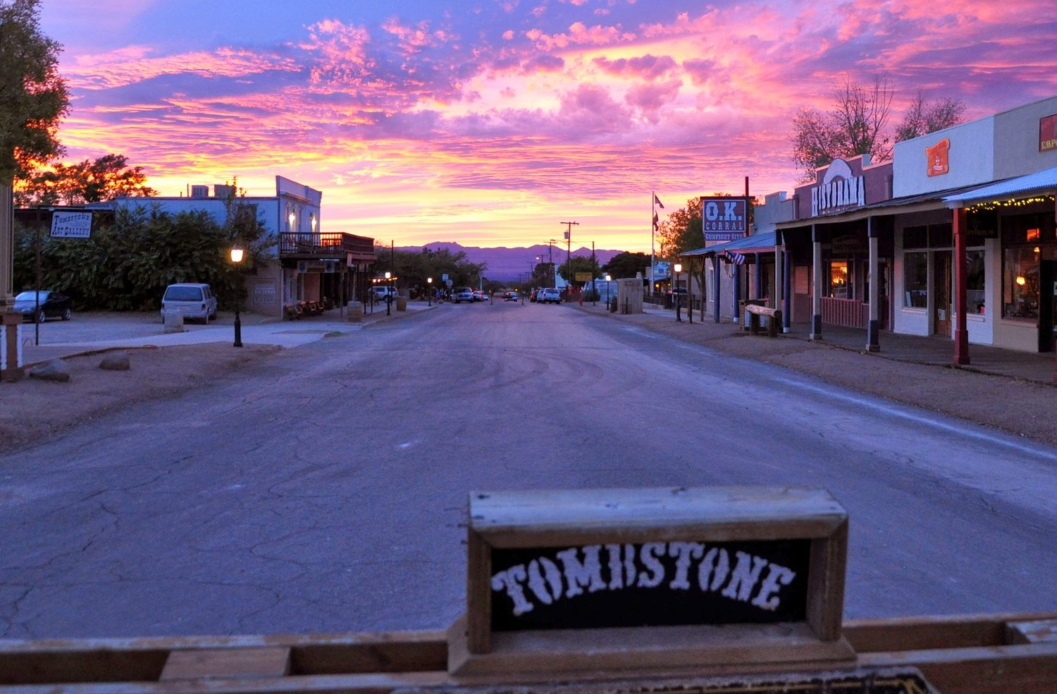 """Experience a taste of the real """"old west"""" on this self guided bike tour"""
