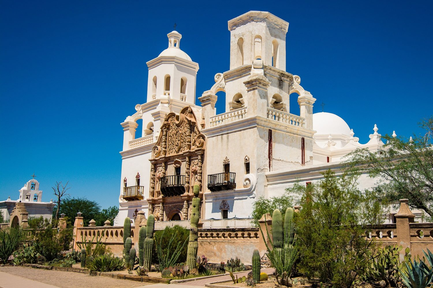 Visit the old mission in Old Town Tucson