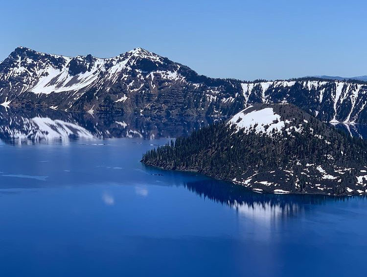 Picture perfect Crater Lake