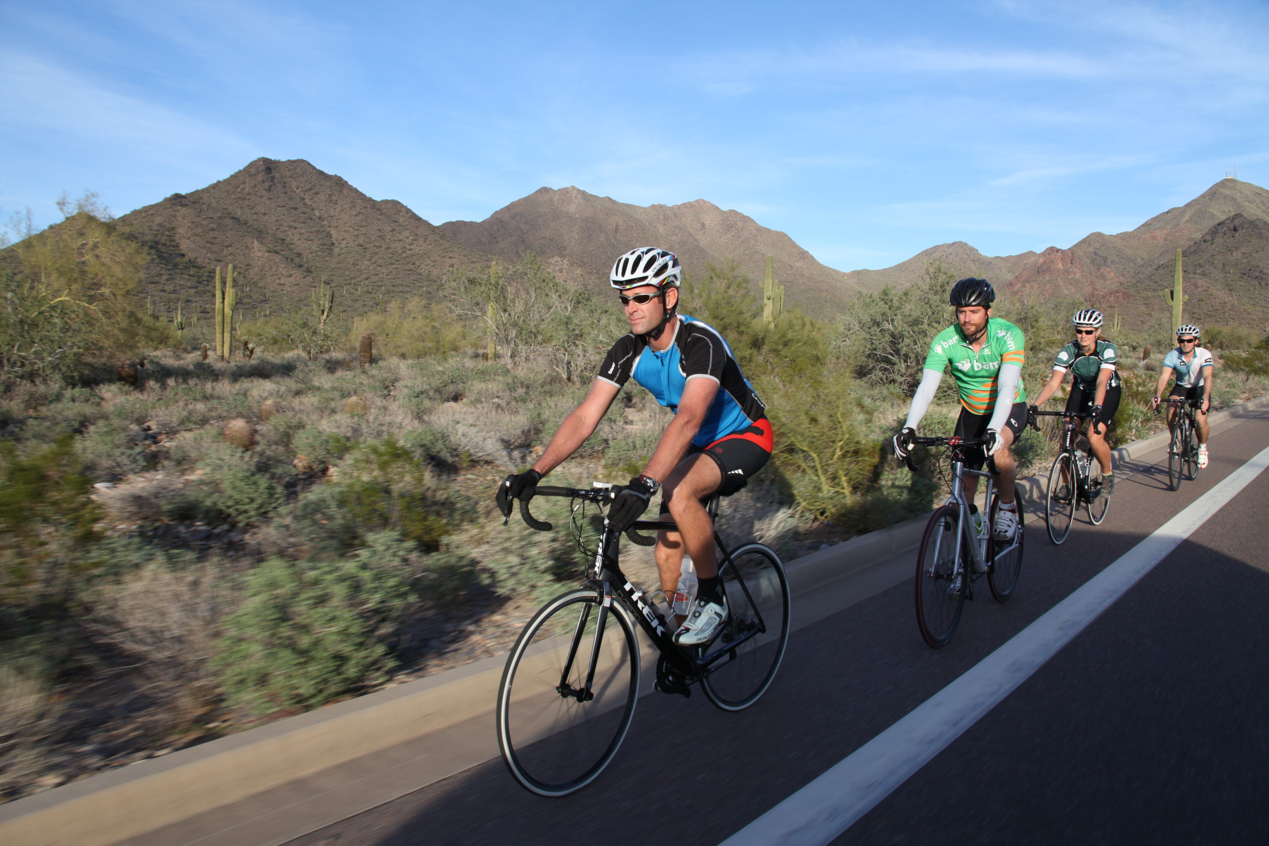Road bike tour Scottsdale Arizona