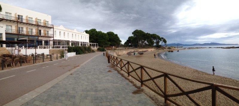 A beach in Empordà, Catalonia, Spain
